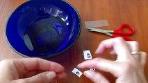 Beautiful stickers for nails - Клеим на ногти наклейки с героями из мультфильмов