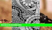 Audiobook  Daily Planner Journal: Zentangle Floral 365 + Days Bullet Journaling Blank Notebook