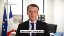 """Emmanuel Macron réagit après la polémique sur la colonisation """"crime contre l'humanité"""""""