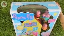 Peppa Pigs Playhouse Playset with Peppa Pig Toys - Juego Casa de Peppa Pig