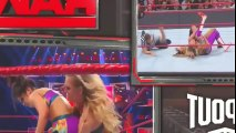 Charlotte Flair Vs Bayley One On One Match For WWE Raw Women Championship At WWE Raw