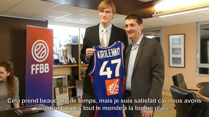 Kirilenko, une légende NBA en visite à la FFBB