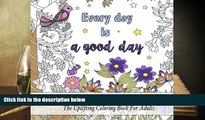 Audiobook  Coloring Inspirational Quotes: The Uplifting Square Coloring Book For Adults (Beautiful