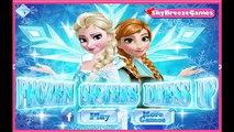 Moderno Congelado Hermanas Frozen Hermanas Elsa y Anna de Maquillaje y de Vestir Juego