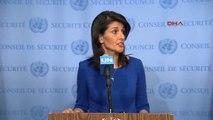 Haley BM'nin Israil'e Karşı Önyargılı Kararlar Almasına Izin Vermeyeceğiz