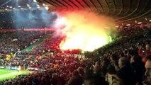 Les Stéphanois mettent le feu à Old Trafford !