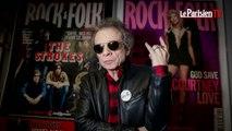 Philippe Manoeuvre tourne la page du magazine Rock & Folk