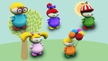 Aprender los Colores de Pintura de Dedo de la Familia de la Canción de canciones infantiles para Niños y Niños | Aprendizaje de la V