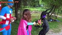 Video Spiderman becomes the fisherman be repay, kingkong vs catwomen Joker fun superheroes 1