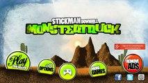 Stickman Downhill Monstertruck Android Gameplay (HD)