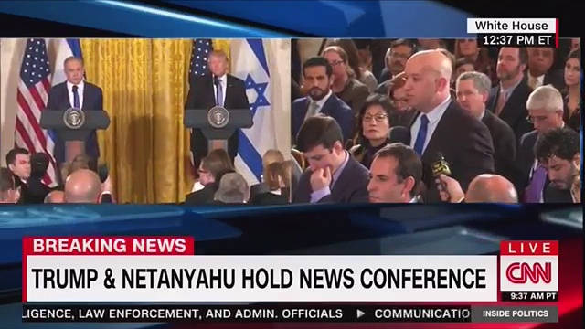 Trump and Netanyahu News Conference February 15th 2017