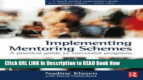 [Reads] Implementing Mentoring Schemes Online Ebook