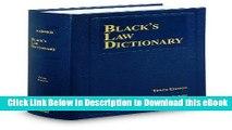 PDF Online Black s Law Dictionary, 10th Edition Online PDF
