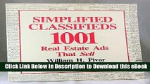 [Get] Simplified Classifieds: 1,001 Real Estate Ads That Sell Free Online