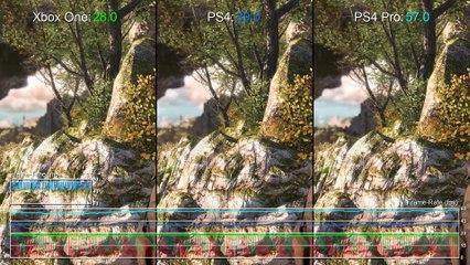 PS4 Pro vs Xbox One Comparison + Frame-Rate Test  de Sniper Elite 4