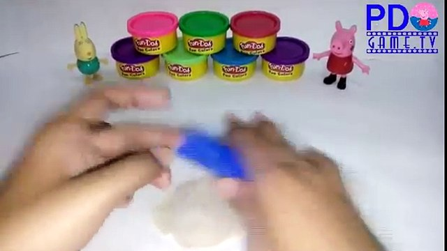 Play-Doh Donuts Tutorial - Learn How to Make Donuts with Sprinkles Using Play-Doh