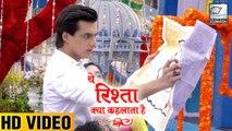 Kartik Wants To Meet Naira Before Marriage | Yeh Rishta Kya Kehlata Hai | On lOcation