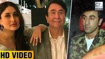 Randhir Kapoor Birthday Party INSIDE PICS   Kareena Kapoor   Ranbir Kapoor