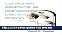 [Reads] Consumer Behavior and Managerial Decision Making (2nd Edition) Online Ebook