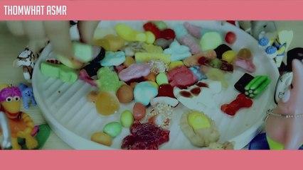 Eating Sweets Sound ASMR 달콤쫄깃 젤리 이팅사운드(한국어 Binaural)