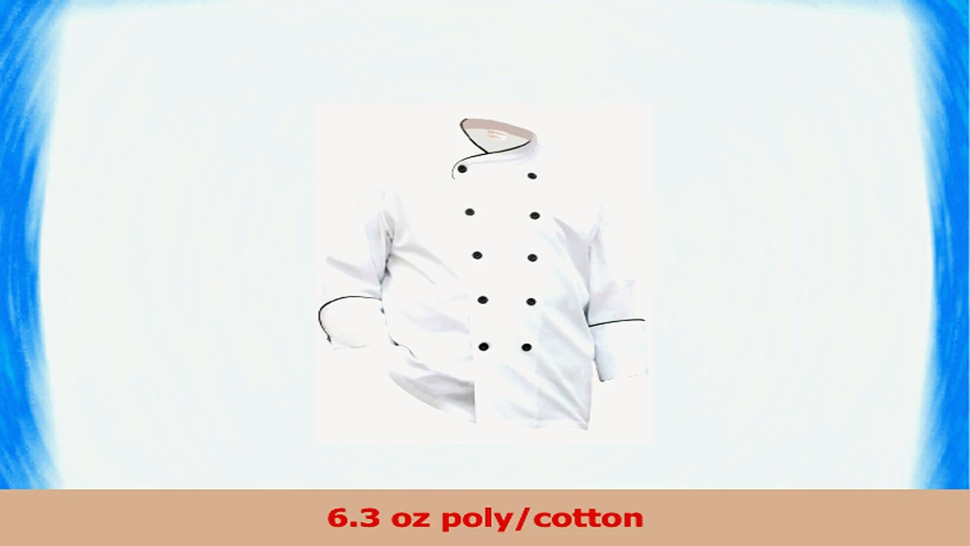 Chef Works Womens Le Mans Chef Coat BCW004