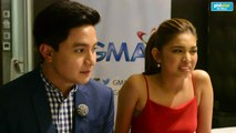 Ricky Lo interviews Alden Richards and Maine Mendoza