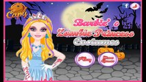 Barbies Zombie Princess Costumes - Cartoon Video Game For Kids Zombies have inva