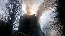 Saint-Martin-d'Hères : un violent incendie dans une résidence universitaire sur le campus