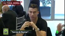 Cristiano ronaldo makes cryptic neymar comment when asked about his rings