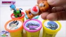 Learn Colors PJ Masks Disney Jr. Owlette Catboy Gekko Luna Girl Surprise Egg and Toy Collector SETC