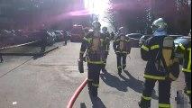 Incendie sur le campus de Saint-Martin-d'Hères : une vingtaine de personnes intoxiquées