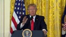 Trump promises to crack down on intelligence leaks