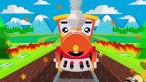 Vídeos de Trenes - Dibujos Animados Educativos - Trenes Para Niños - Caricaturas de Trenes