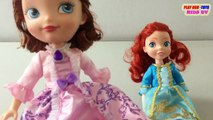 Fortune Days Dolls Toy Ariel Doll Disney Princess Sofia Toys Collection Video For Kids
