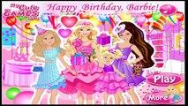 Happy Birthday Barbie Barbie Games For Girls видео
