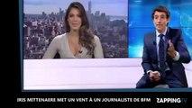 Iris Mittenaere élue Miss Univers, elle met un énorme vent à un journaliste de BFMTV