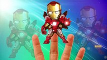 Superhero Hulk Spiderman Ironman Batman Little Babies Finger Family Songs Nursery Rhymes L