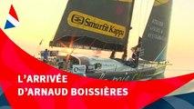 J102 : L'arrivée d'Arnaud Boissières aux Sables d'Olonne / Vendée Globe