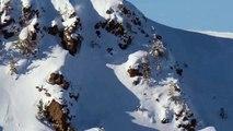Le skieur Candide Thovex fait une grosse chute et s'en sort avec classe !