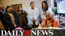 Spunky NYC Woman Turned 100 Says Having 'Big Man' Led To Long Life