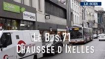 Mobilité à Bruxelles : Le bus 71 Chaussée d'Ixelles