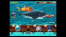 Голодные Эволюция Акула большая Белая Акула андроид геймплей HD