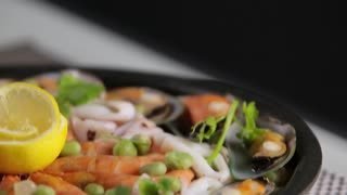 Filipino Seafood Paella