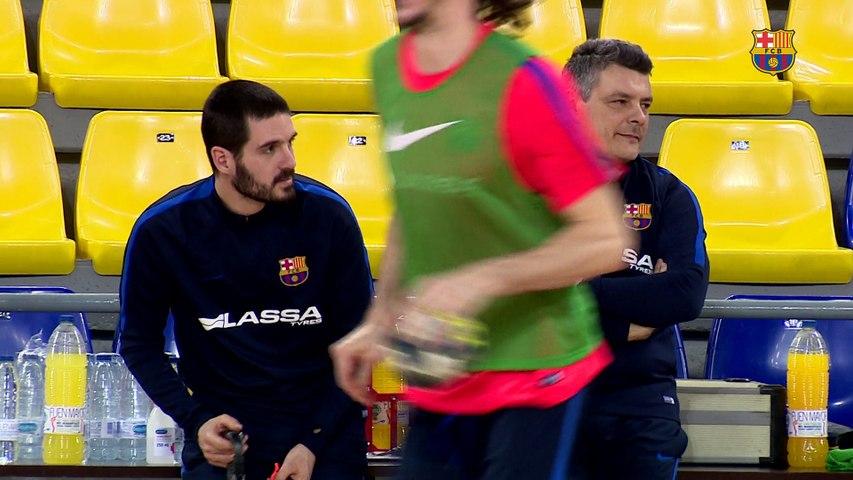"""Xavi Pascual: """"Contra La Rioja tendremos que hacer un sobreesfuerzo importante"""""""