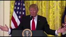 Trump attacks 'very fake news'