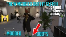 "GTA 5 Online Outfit Glitches - *NEW* Modded Outfit Glitch - ""Modded Looking Boots Glitch"""
