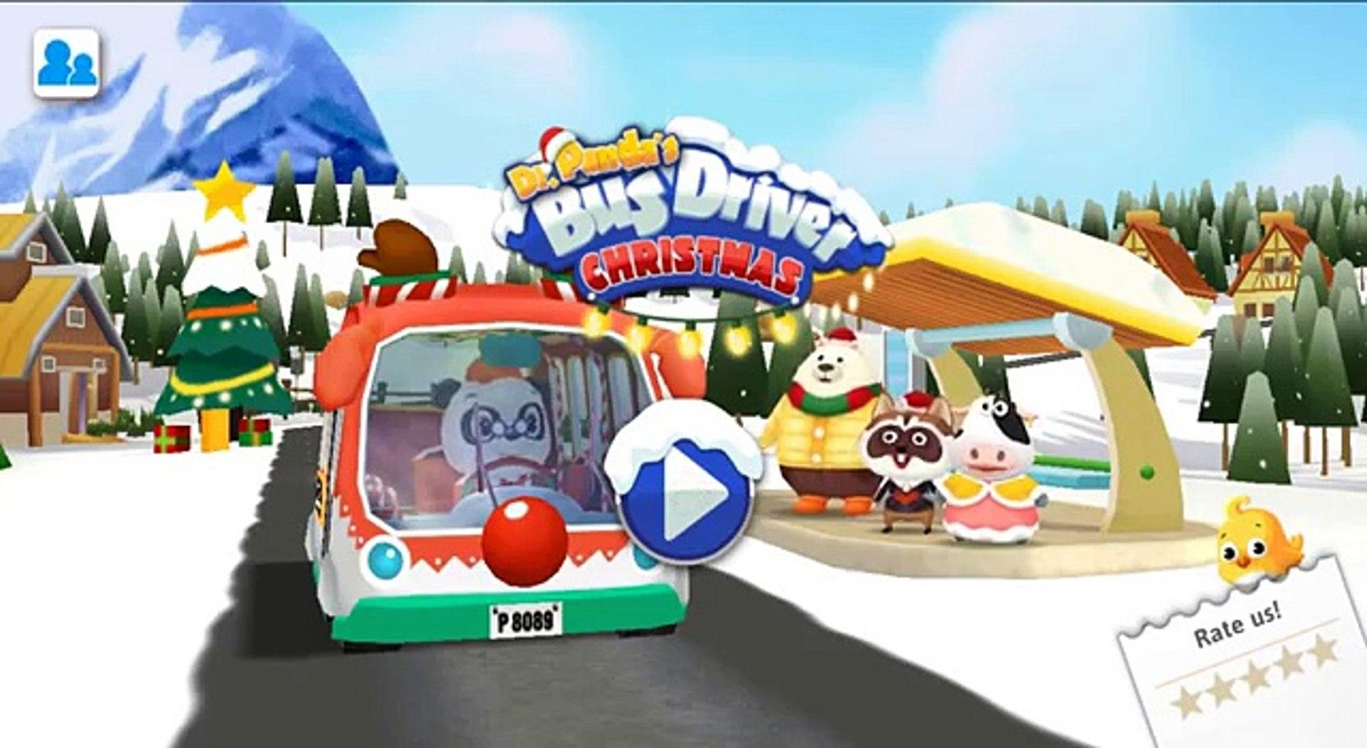 Лучшие Мобильные детей Доктор Панда игры Рождественский автобуса Доктор Панда Лтд