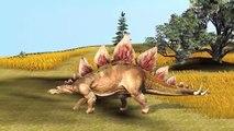 Dinosaurio De Canciones Infantiles Para Niños | Cerdo Peleas | Dinosaurios De Pelea | Elefante De Dibujos Animados