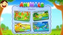 Los animales Rompecabezas Para Niños a los Niños a aprender los Animales de la Aplicación educativa para los Niños