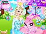 Congelados Elsa Cuidado de las Mascotas: la princesa de Disney Congelado Bebé Mejor Juegos Para Chicas